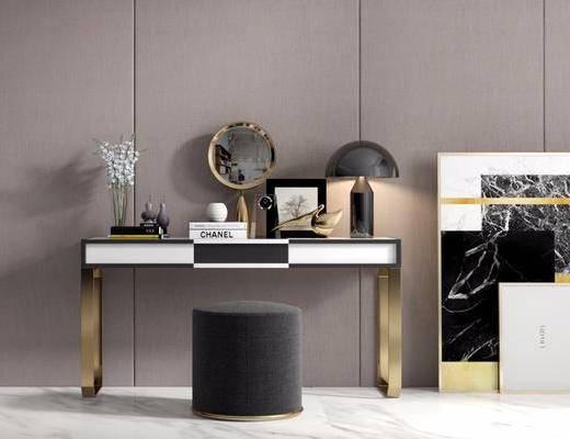 擺件組合, 裝飾畫, 桌椅組合