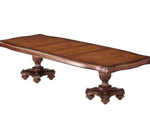 美式餐桌, 餐桌