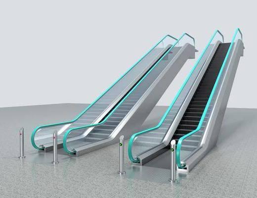 自动扶梯, 公共设施, 现代