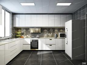 厨房, 厨具, 餐具, 冰箱