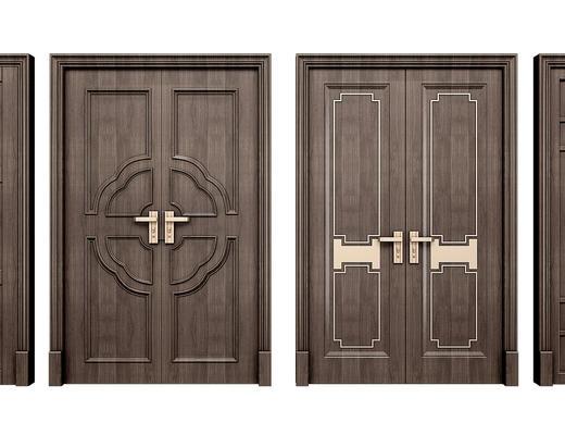 门, 门构件, 中式门, 中式, 构件