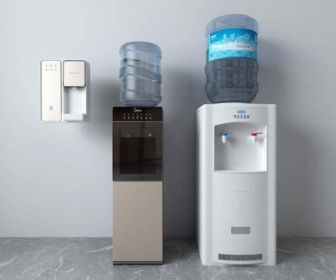 矿泉水, 饮水机, 电器