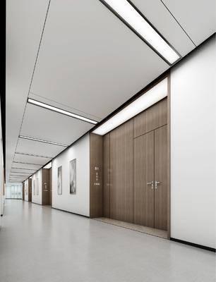 酒店過道, 走廊過道, 現代