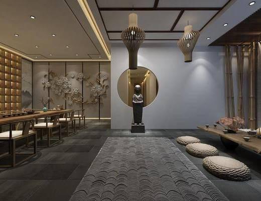 新中式茶馆, 茶馆, 茶室