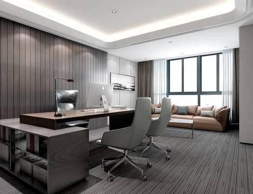 现代办公室, 总经理办公室, 办公桌椅
