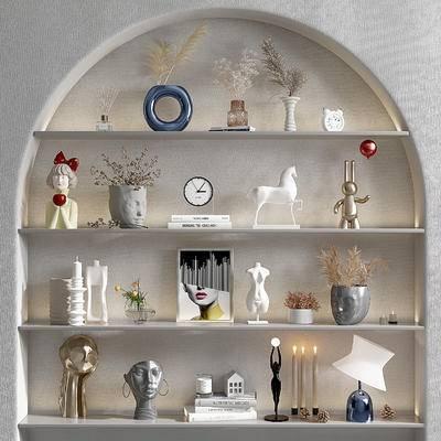现代花瓶雕塑, 工艺品摆件