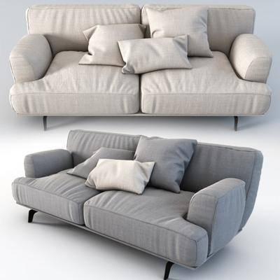 双人沙发, 现代沙发, 布艺沙发, 现代布艺沙发, 布艺双人沙发, 现代布艺双人沙发, 现代