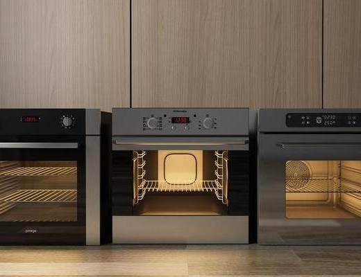 烤箱組合, 廚具組合, 現代