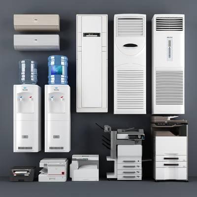 空调, 饮水机, 打印机, 影印机
