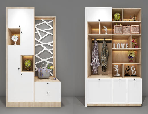置物柜, 陈设品, 鞋柜