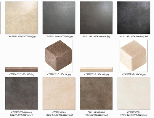 马可波罗, 瓷砖, 波光砖, 贴图