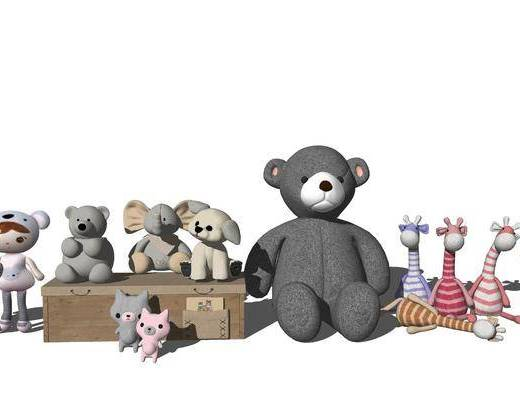 玩具, 玩偶, 公仔