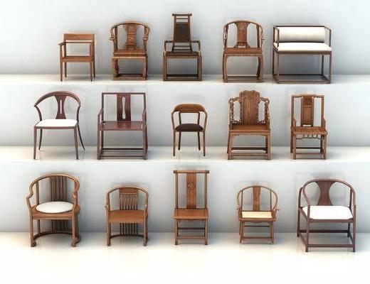 单椅, 休闲椅, 太师椅