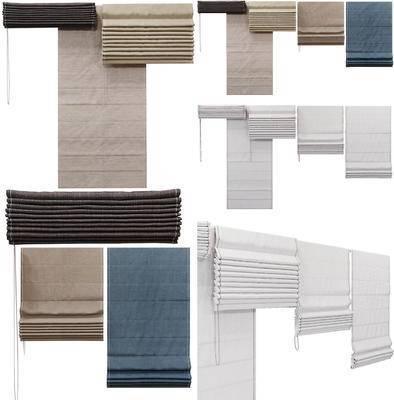 卷帘, 窗帘, 折叠帘, 现代