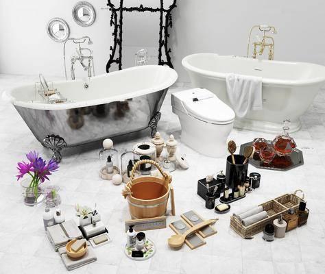 毛巾, 香皂, 洗漱用品组合, 卫浴组合, 洗浴组合