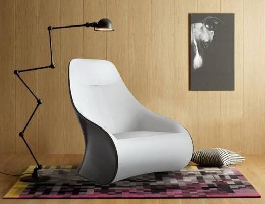 休闲沙发, 后现代