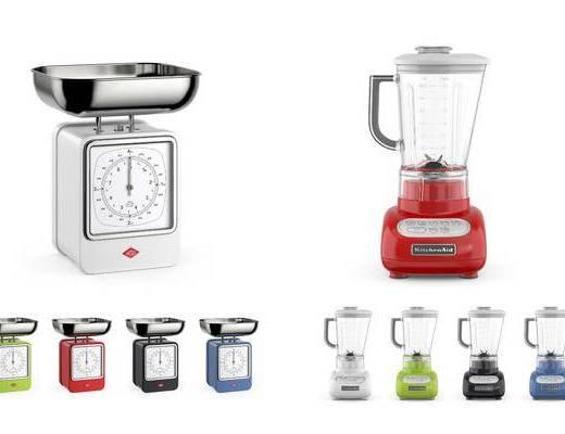 厨房厨具, 电子秤, 榨汁机, 现代