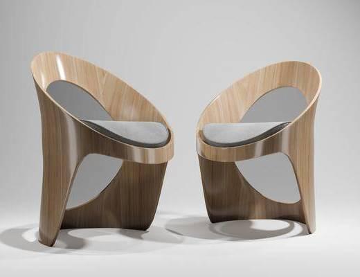 休闲椅, 椅子, 单椅, 现代椅子, 现代单椅