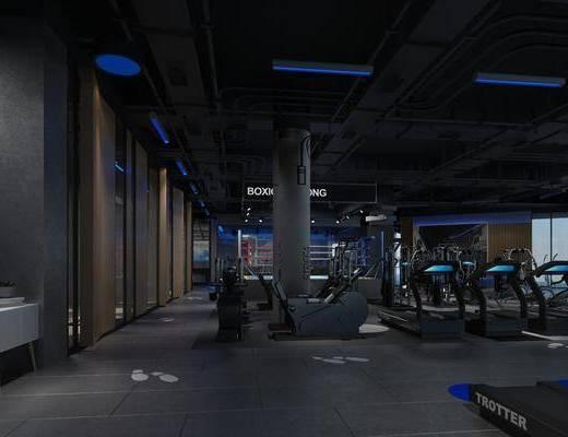 健身房, 健身室