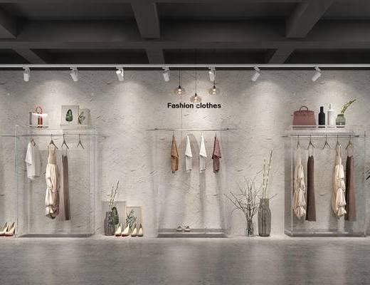 现代女装服装店