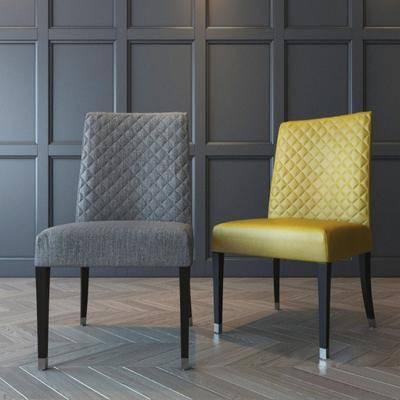 单椅, 休闲椅, 餐椅, 现代
