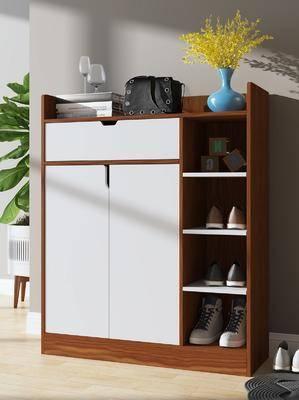 鞋柜, 装饰柜, 边柜, 现代