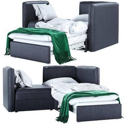 贵妃椅, 沙发床, 床尾踏
