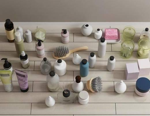 化妆品, 毛巾卫浴架, 现代