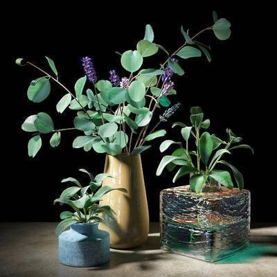 现代玻璃花瓶