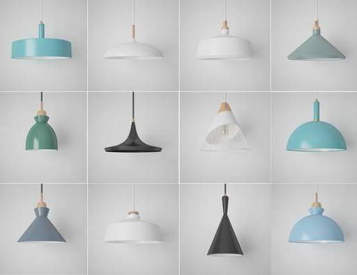 灯具灯饰, 吊灯组合, 北欧