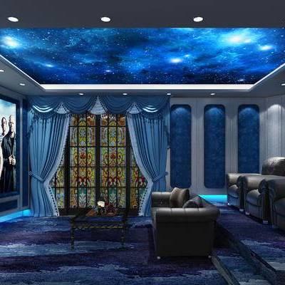 家庭影院, 欧式, 沙发