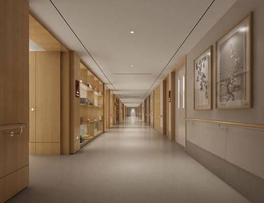 走廊过道, 新中式