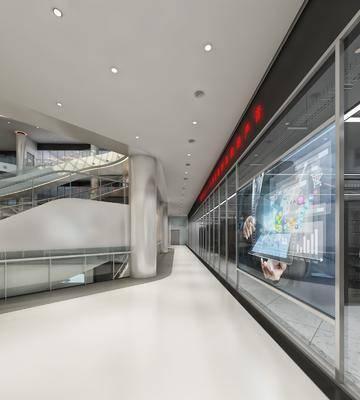 现代走廊过道, 走廊, 过道, 现代