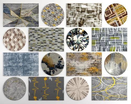 地毯, 圆形地毯