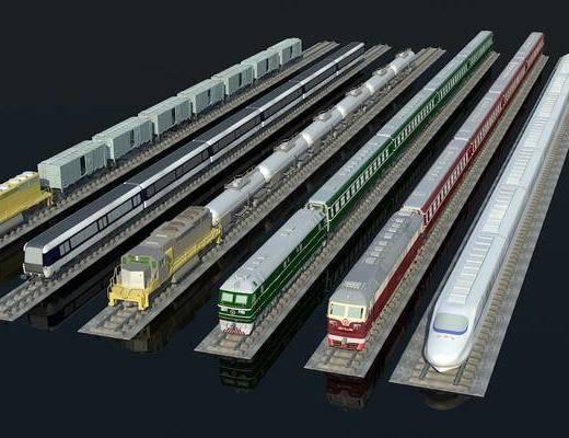 高铁, 火车, 单体