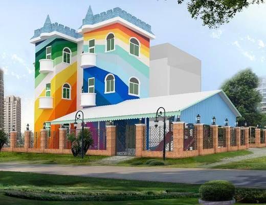 现代, 幼儿园