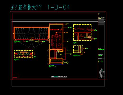 CAD, 施工图, 家装, 立面, 平面