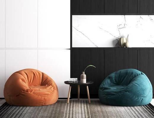 懒人沙发, 休闲椅