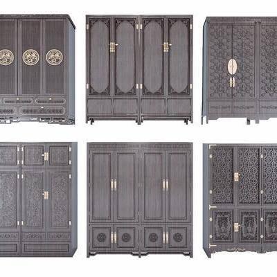 衣柜, 中式