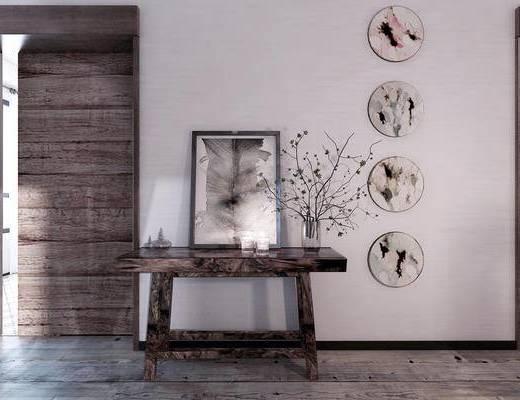 墙饰, 花瓶, 装饰画