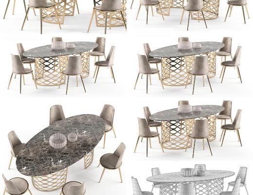 餐桌椅, 现代, 摆设