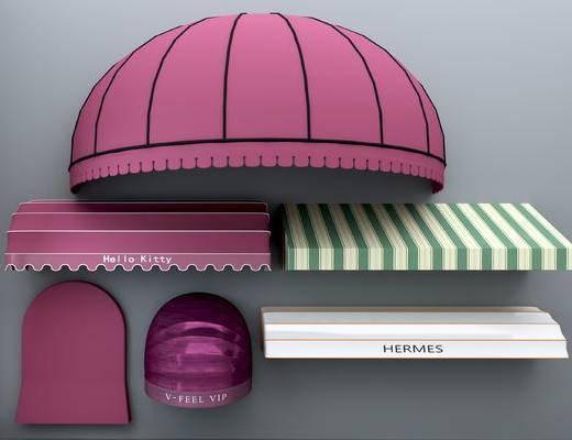 现代, 遮雨棚, 遮阳棚