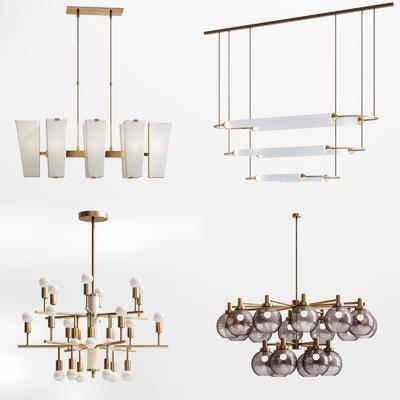 吊燈, 燈具, 吊燈組合