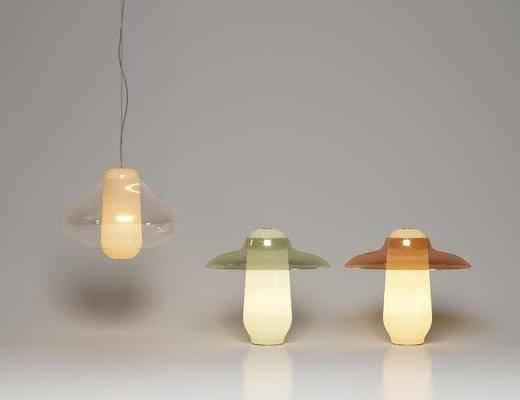 现代台灯, 现代造型灯, 现代灯饰