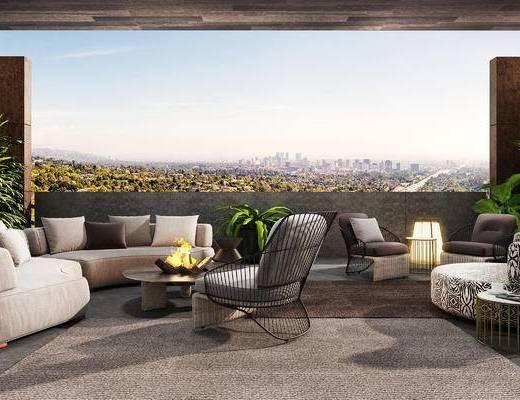 沙发组合, 沙发茶几组合, 现代沙发, 单人沙发, 多人沙发, 北欧
