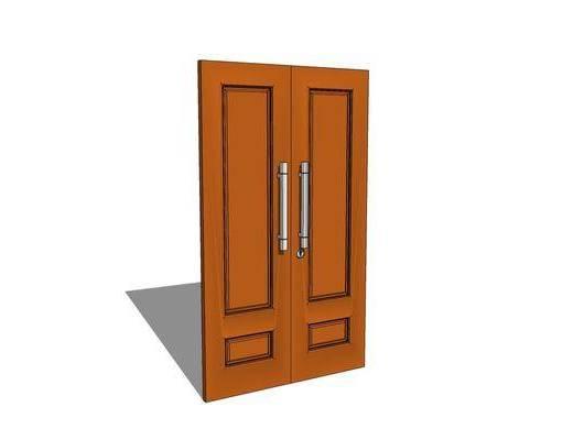 门, 房门, 双开门