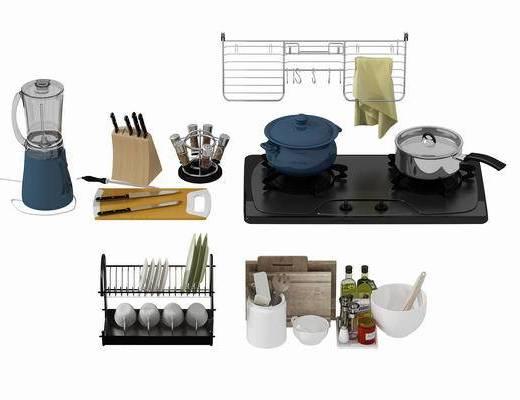 厨房用品, 厨具, 现代