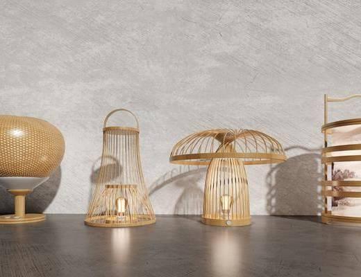 台灯, 灯具组合, 灯饰
