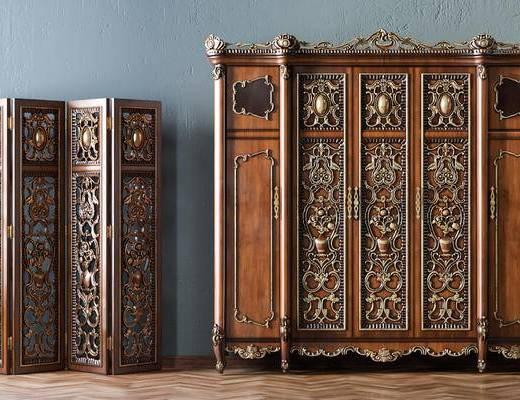 欧式衣柜, 古典衣柜