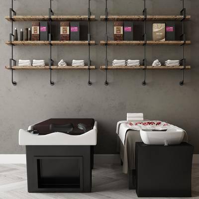 單人床, 墻飾, 柜架, 置物柜